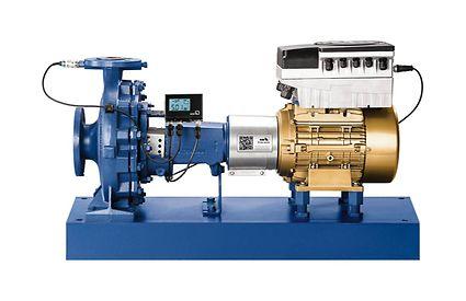 PumpDrive устанавливается на двигатель до 55 кВт