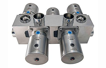 мембранный запорный клапан