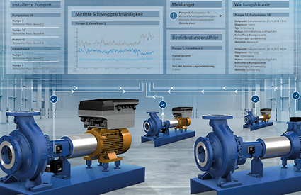 Comprehensive monitoring of your pumps with the monitoring system KSB Guard