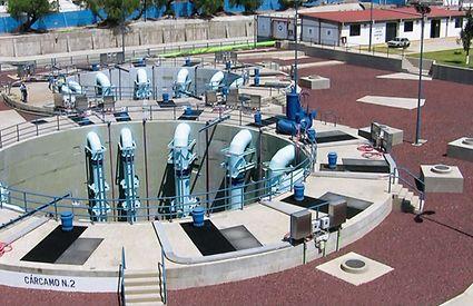 KSB La Caldera pumping station with a head of around 30 metres