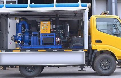 Mobile Flood Pump Pictures