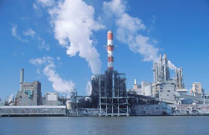 BASF industrial power plant