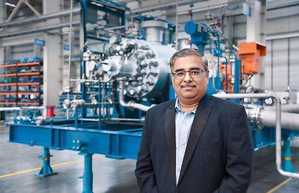 Nitin Patil, Leiter Werk Shirwal, Indien