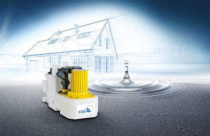 The smallest fully-fledged sewage lifting unit: mini-Compacta US1.40
