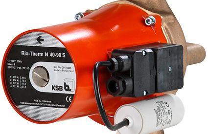 KSB circulatiepomp Rio Therm N 40-90 S met flensaansluiting