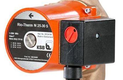 KSB circulatiepomp Rio Therm N 25-30 S met schroefdraadaansluiting