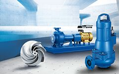Amarex KRT and Sewatec waste water pumps